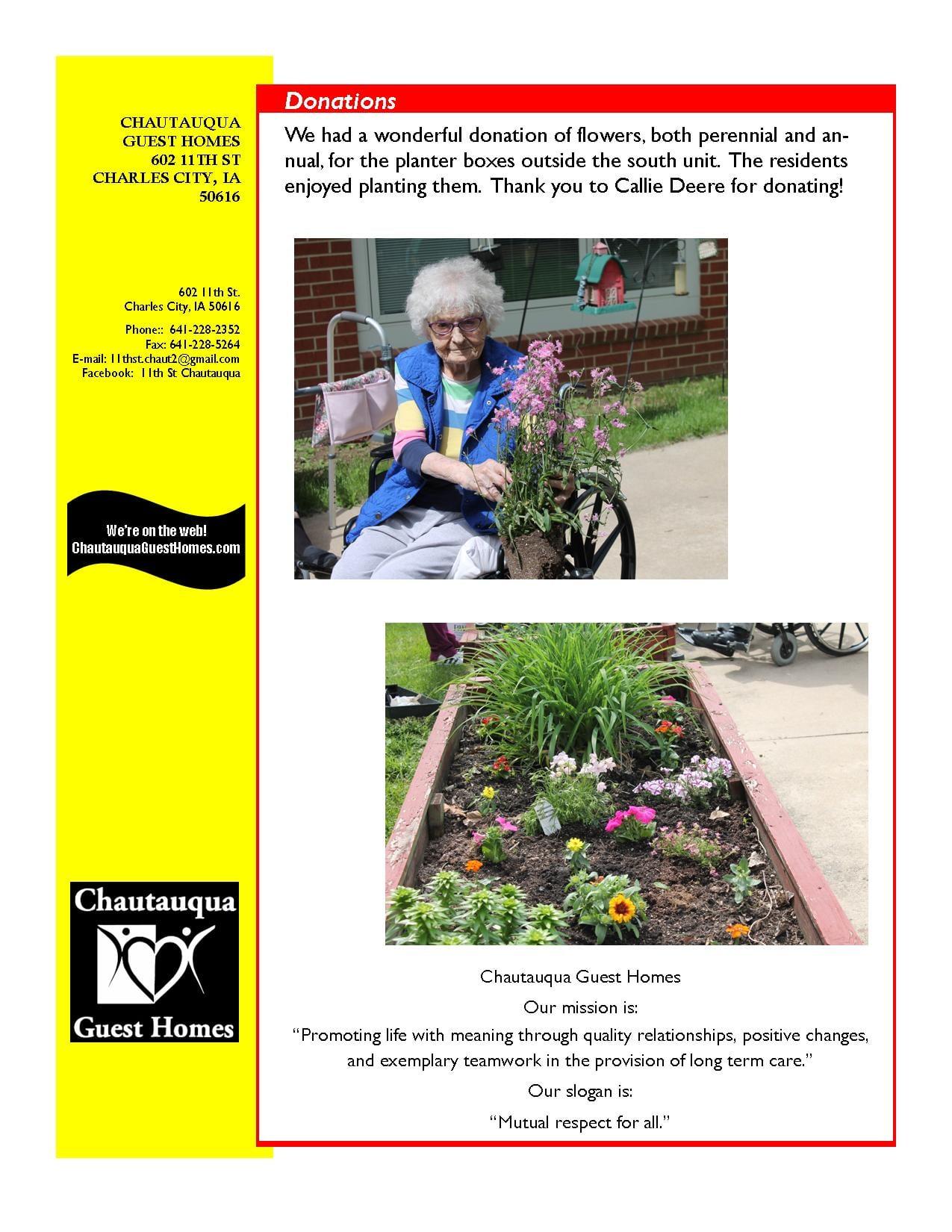 11th Street June Newsletter